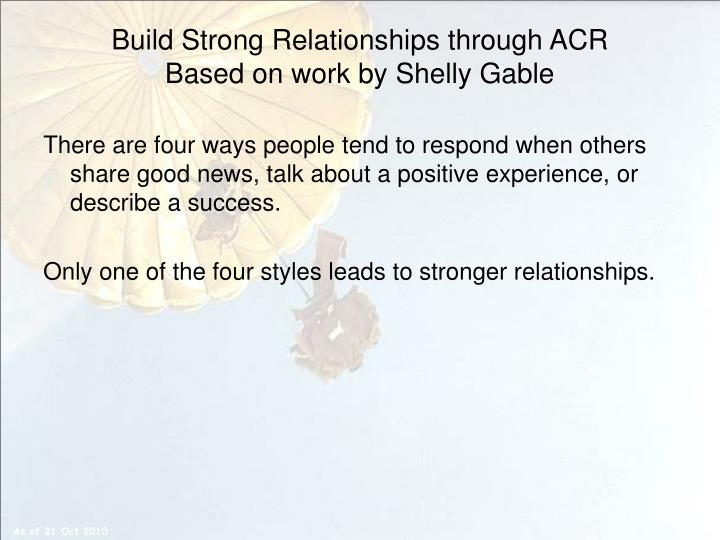 how to build strong relationships adolescence