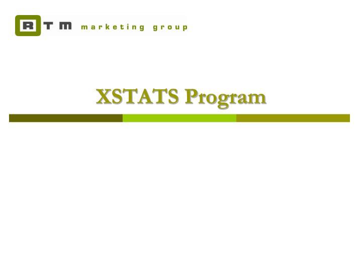 XSTATS Program