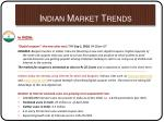 indian market trends