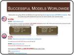 successful models worldwide