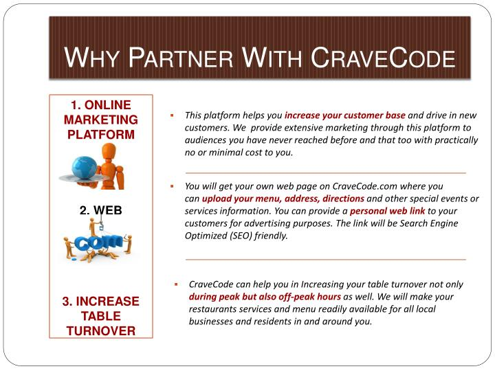 Why Partner With CraveCode