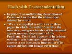 clash with transcendentalism6