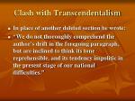 clash with transcendentalism7