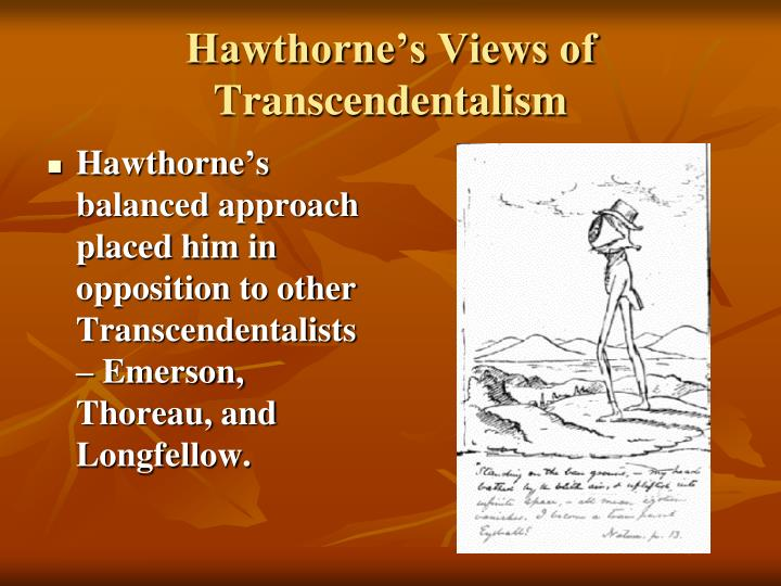 Hawthorne's Views of Transcendentalism