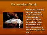 the american novel1