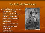 the life of hawthorne9
