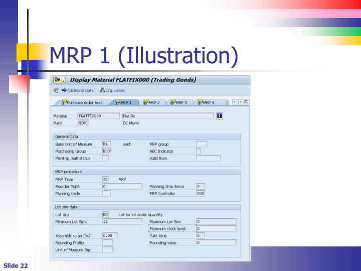 MRP 1 (Illustration)