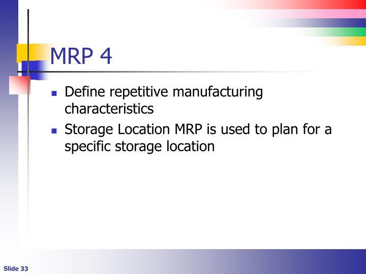 MRP 4