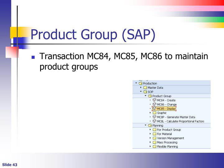 Product Group (SAP)