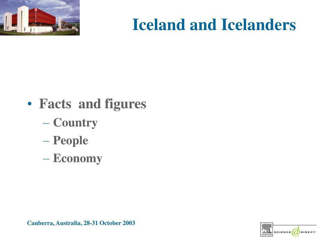 Iceland and Icelanders
