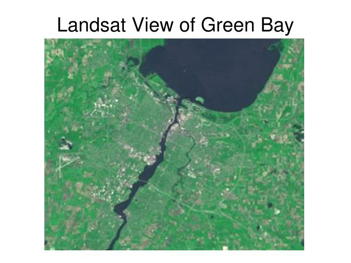 Landsat View of Green Bay
