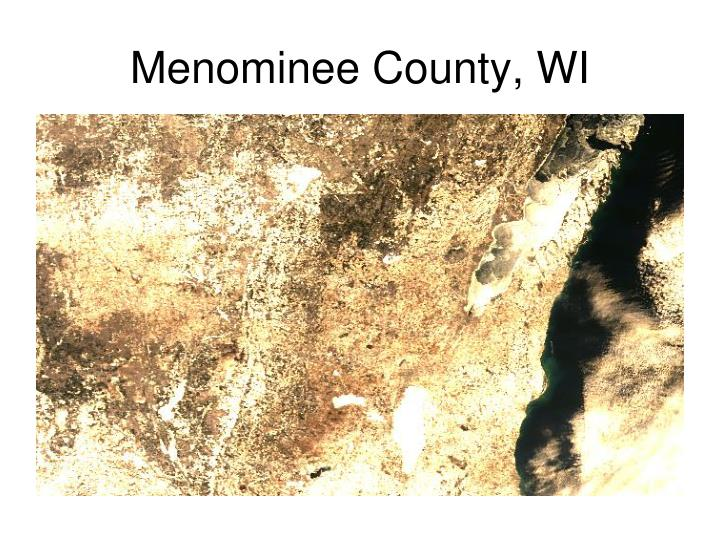 Menominee County, WI