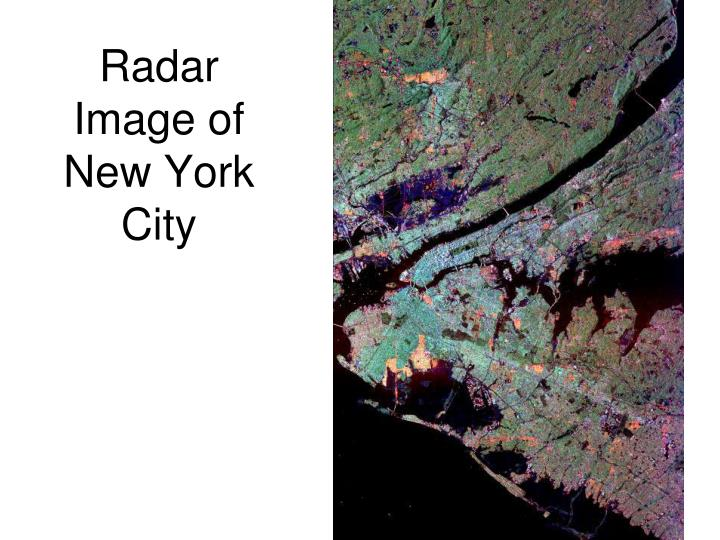 Radar Image of New York City
