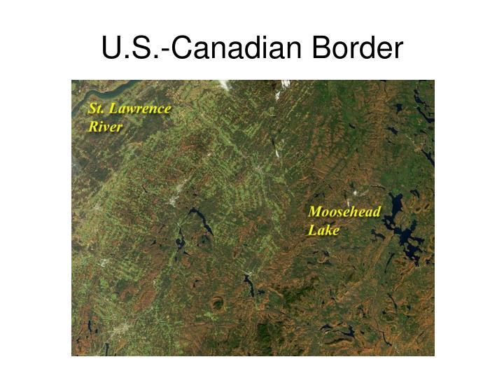 U.S.-Canadian Border