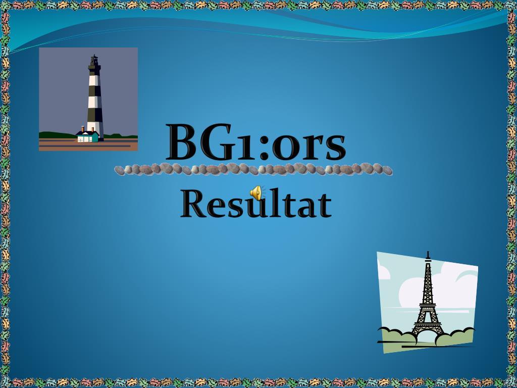 BG1:ors