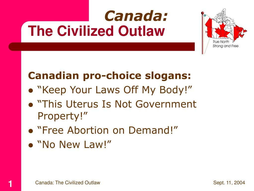canada the civilized outlaw