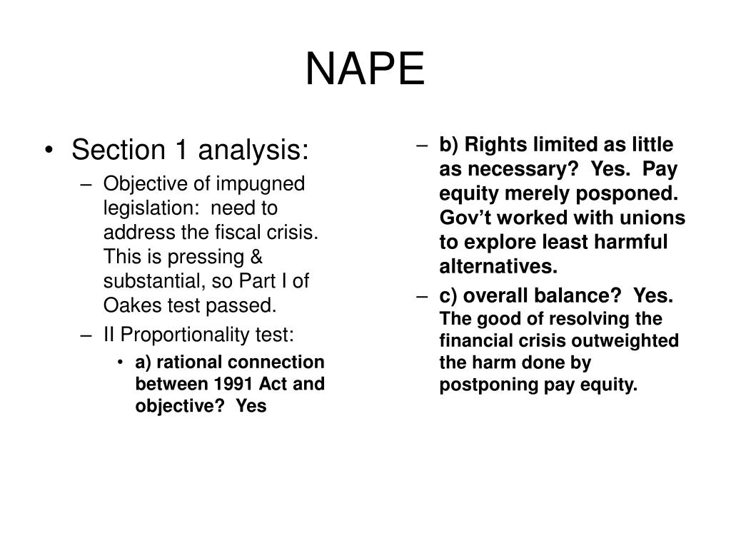 Section 1 analysis: