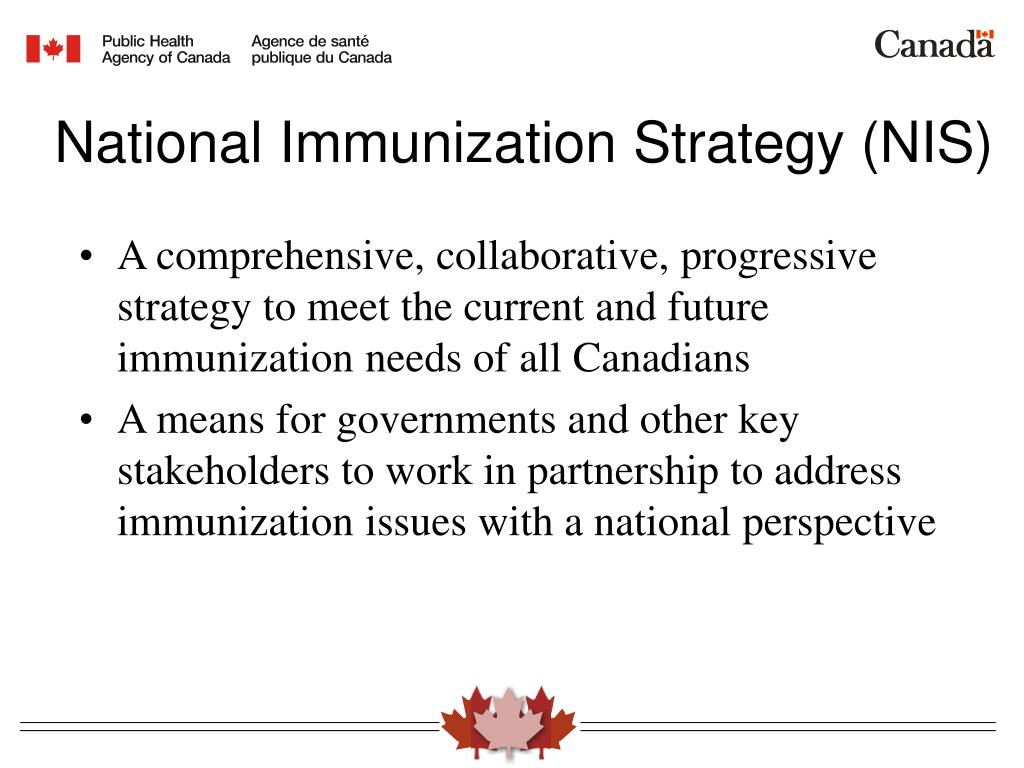 National Immunization Strategy (NIS)