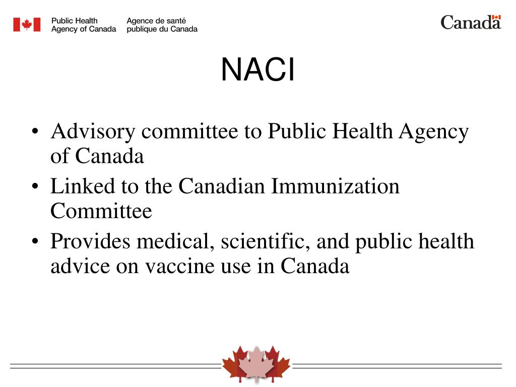 Advisory committee to Public Health Agency of Canada