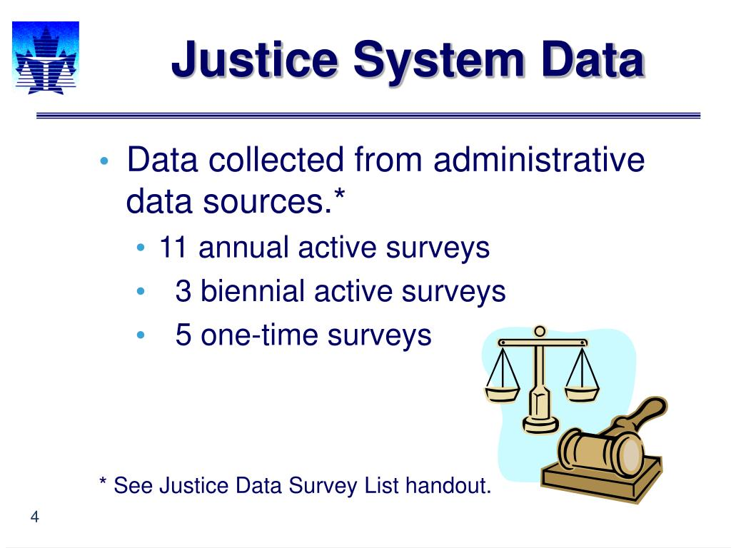 Justice System Data