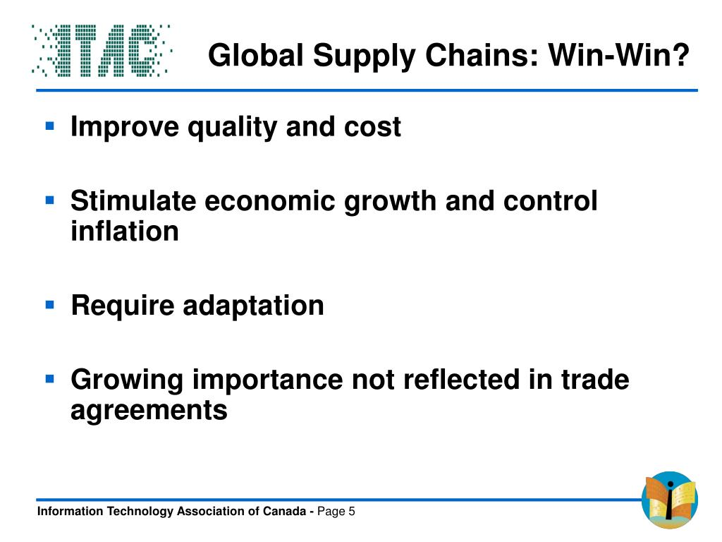Global Supply Chains: Win-Win?