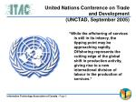 united nations conference on trade and development unctad september 2005