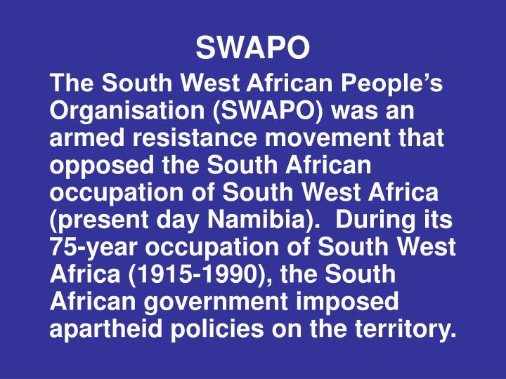 SWAPO