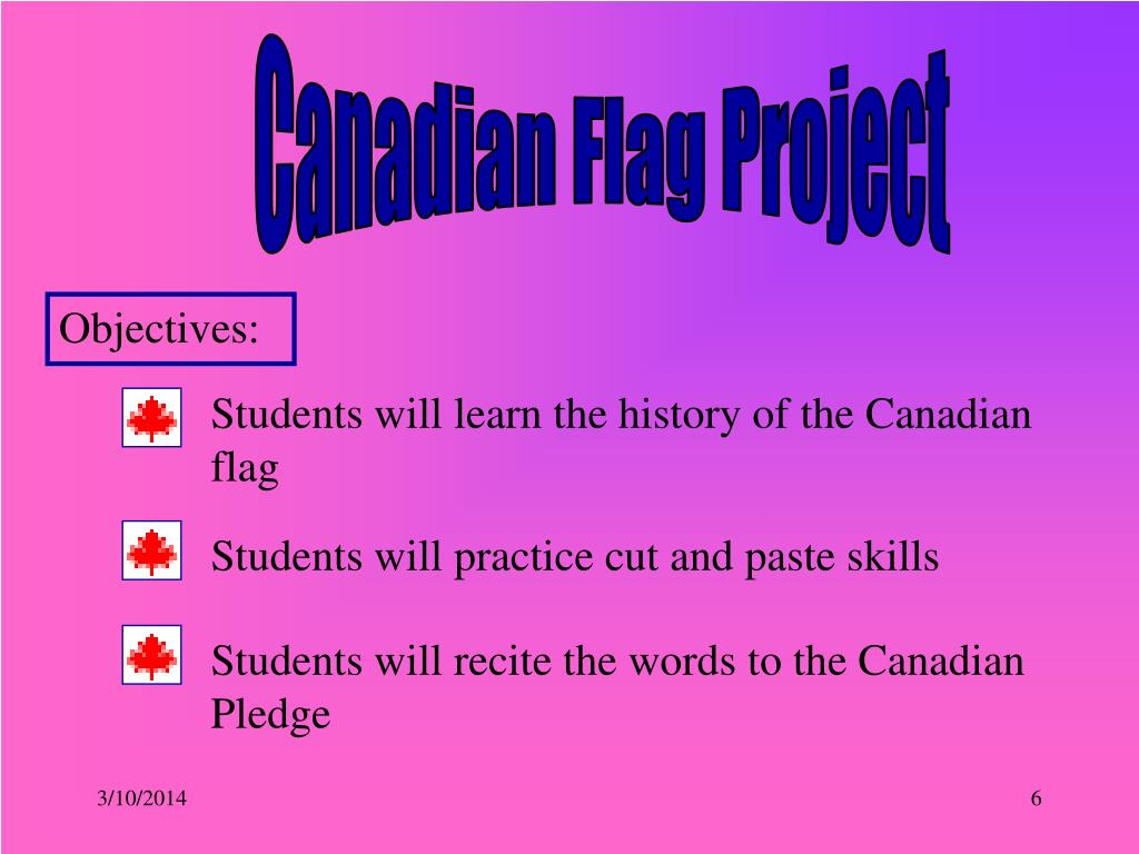 Canadian Flag Project