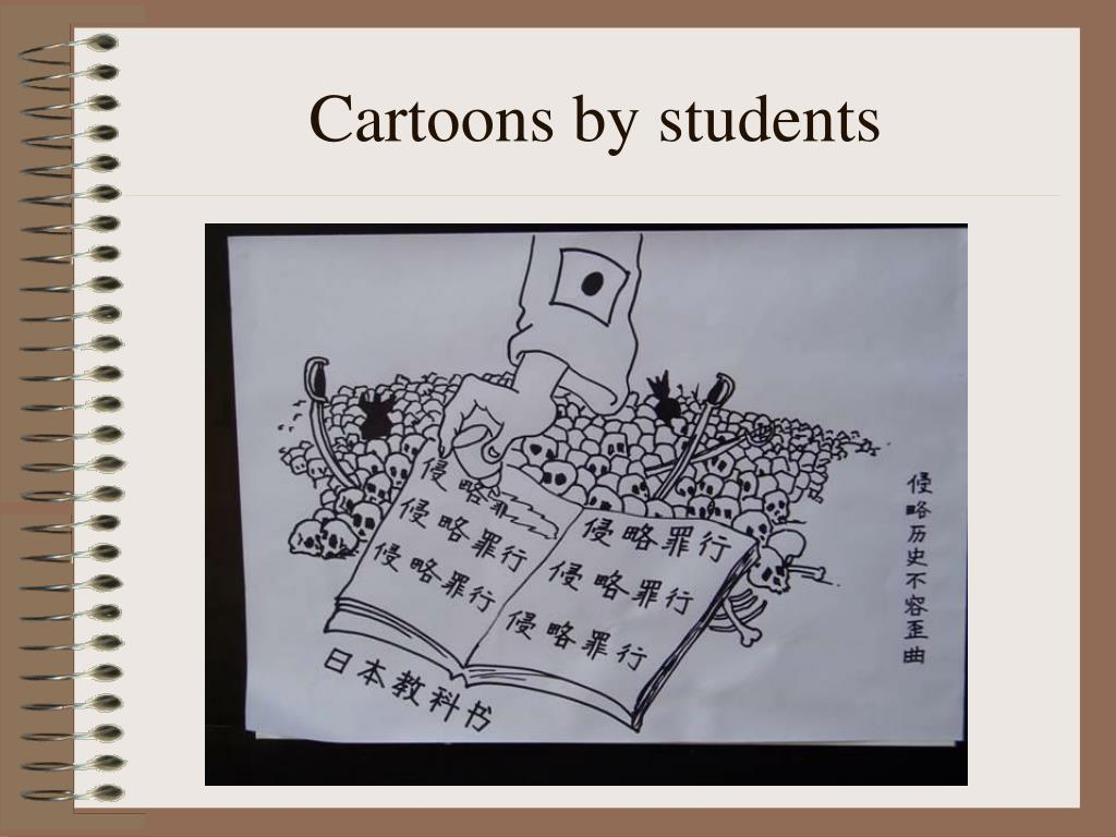 Cartoons by students