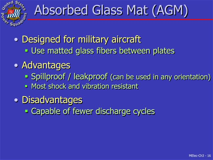 Absorbed Glass Mat (AGM)