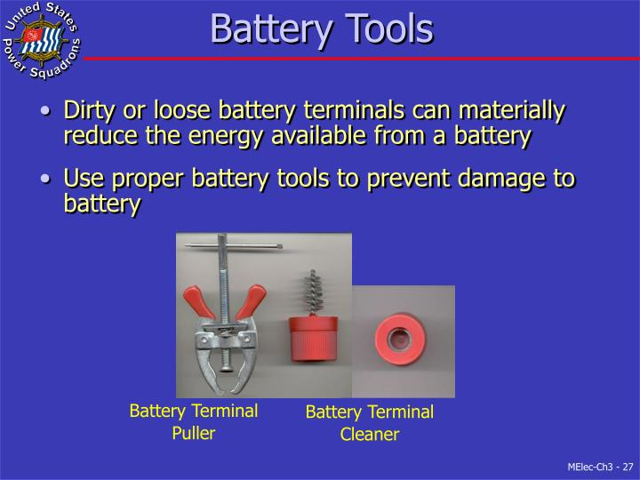 Battery Tools