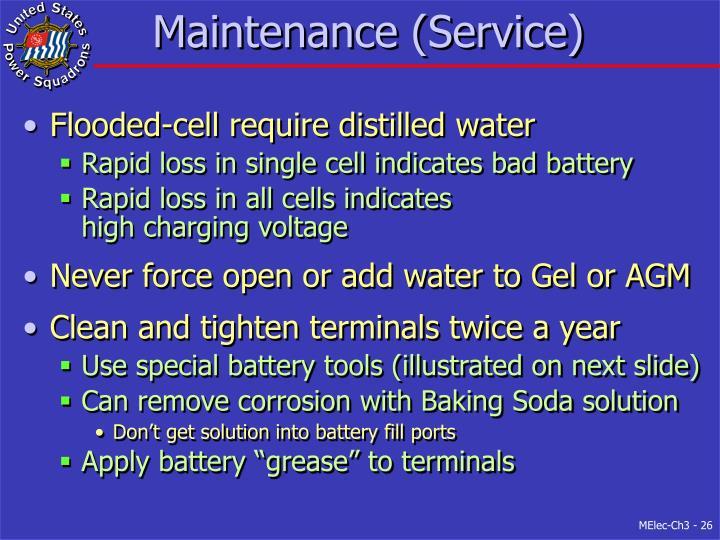 Maintenance (Service)