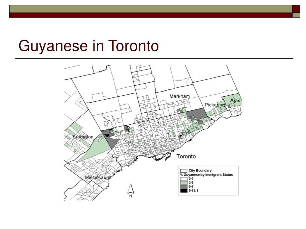 Guyanese in Toronto
