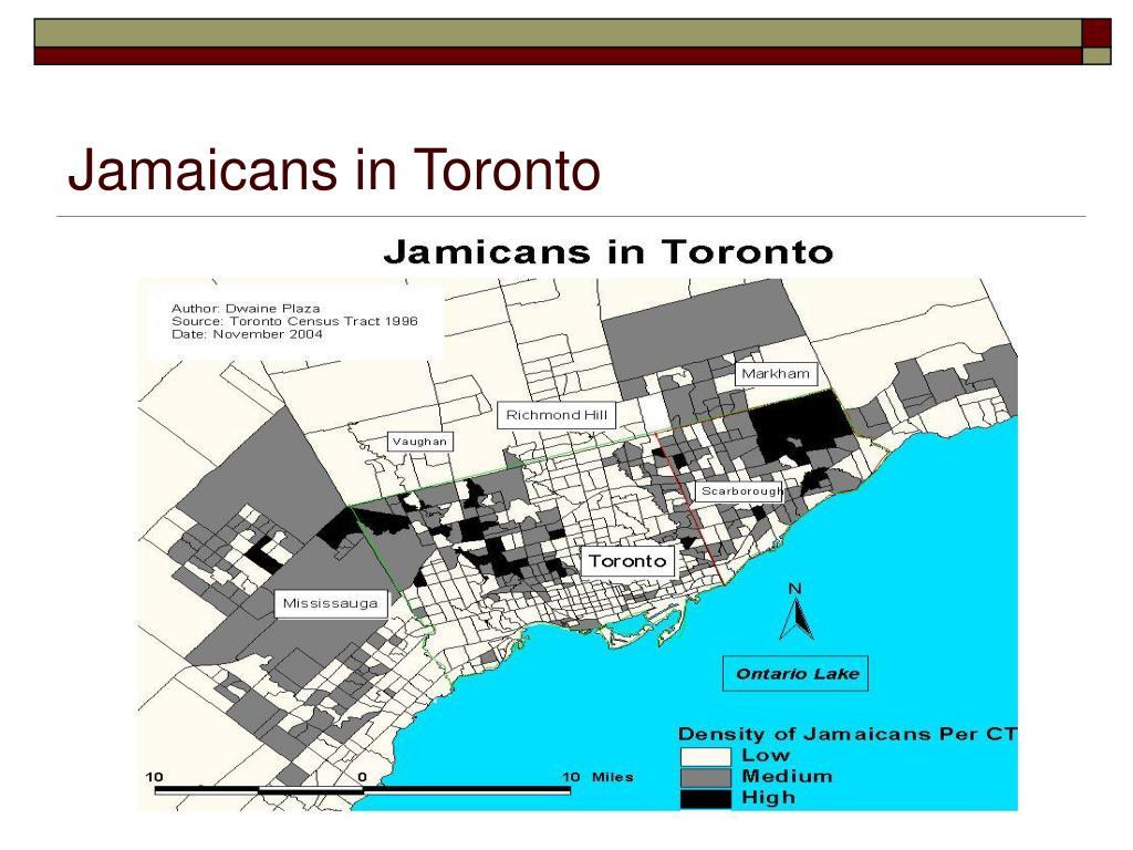 Jamaicans in Toronto