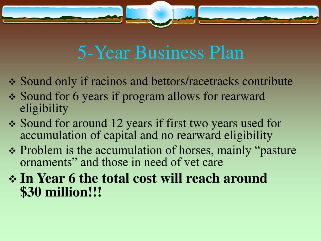 5-Year Business Plan
