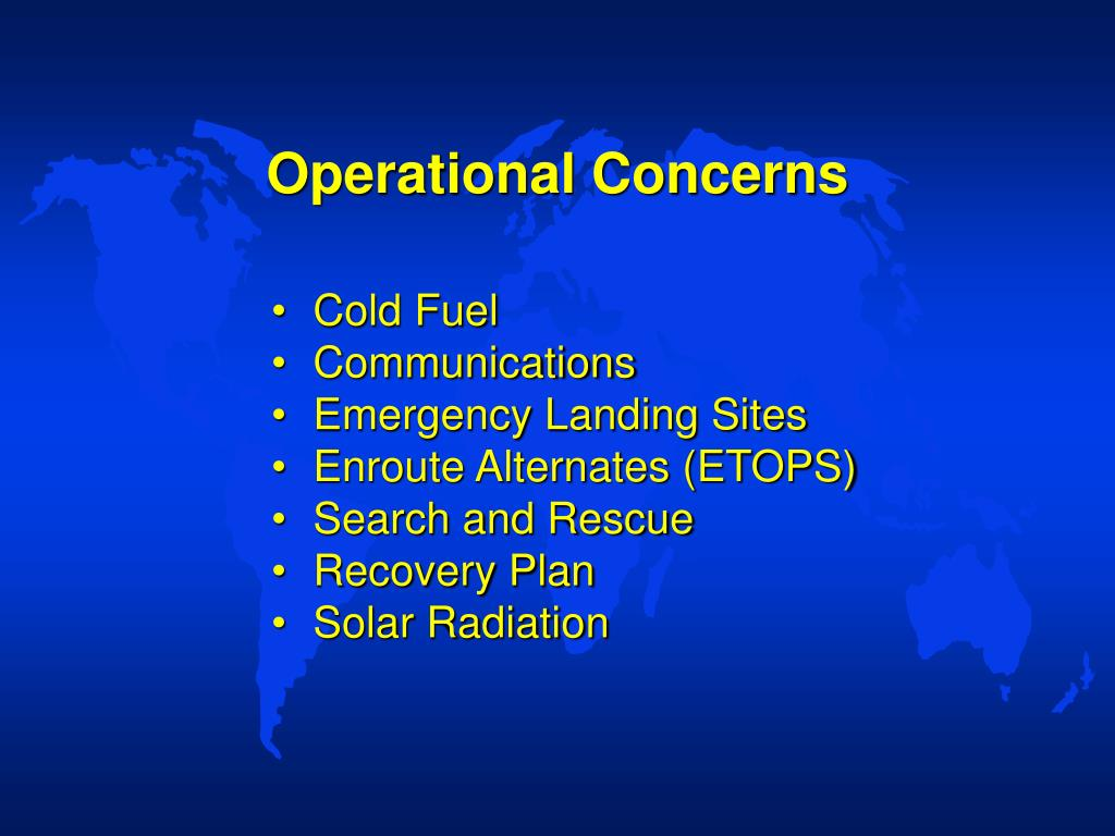 Operational Concerns