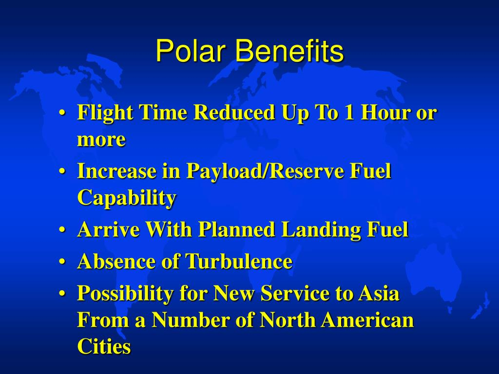 Polar Benefits