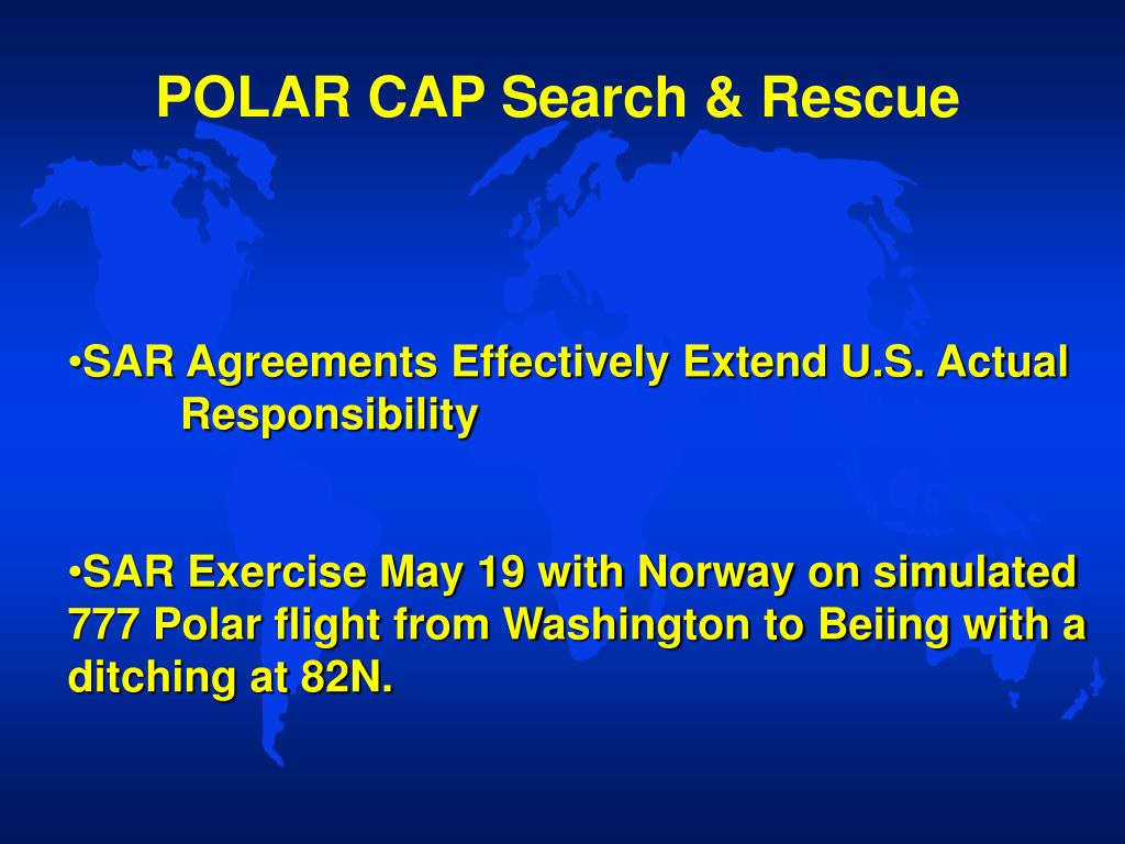 POLAR CAP Search & Rescue
