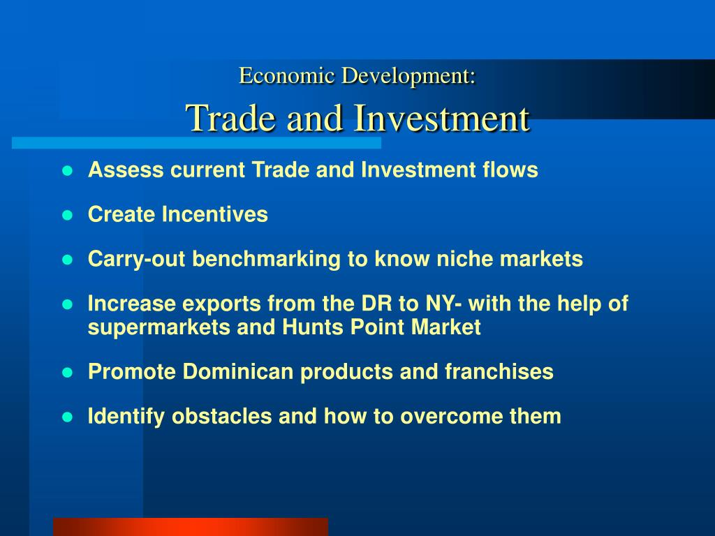 Economic Development: