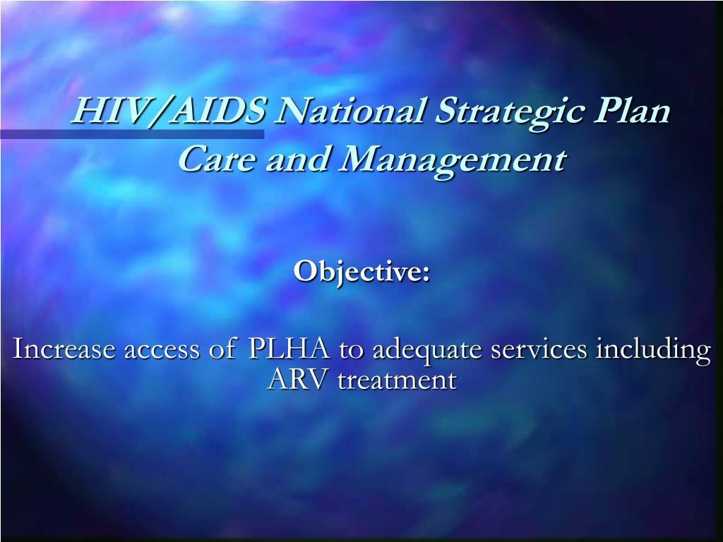 HIV/AIDS National Strategic Plan