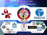 response to the hiv aids epidemic