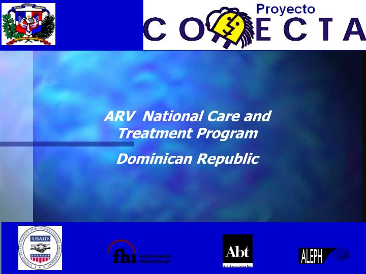 ARV  National Care and Treatment Program