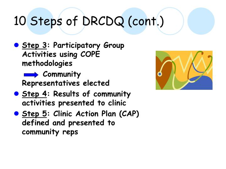 10 steps of drcdq cont