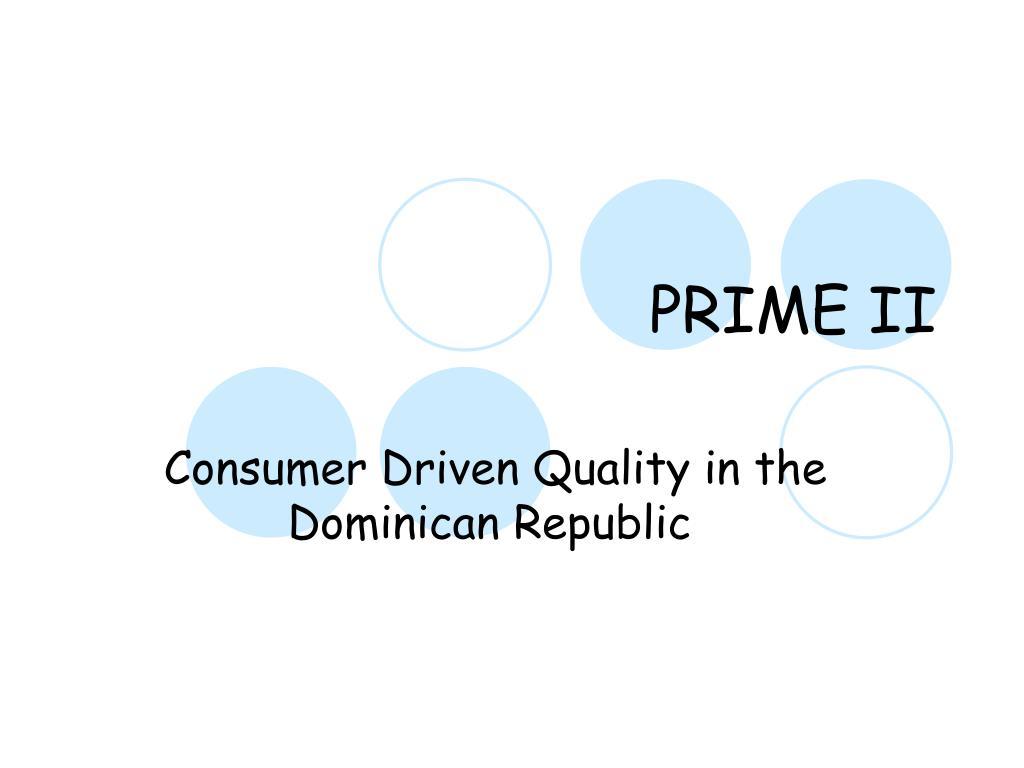 PRIME II
