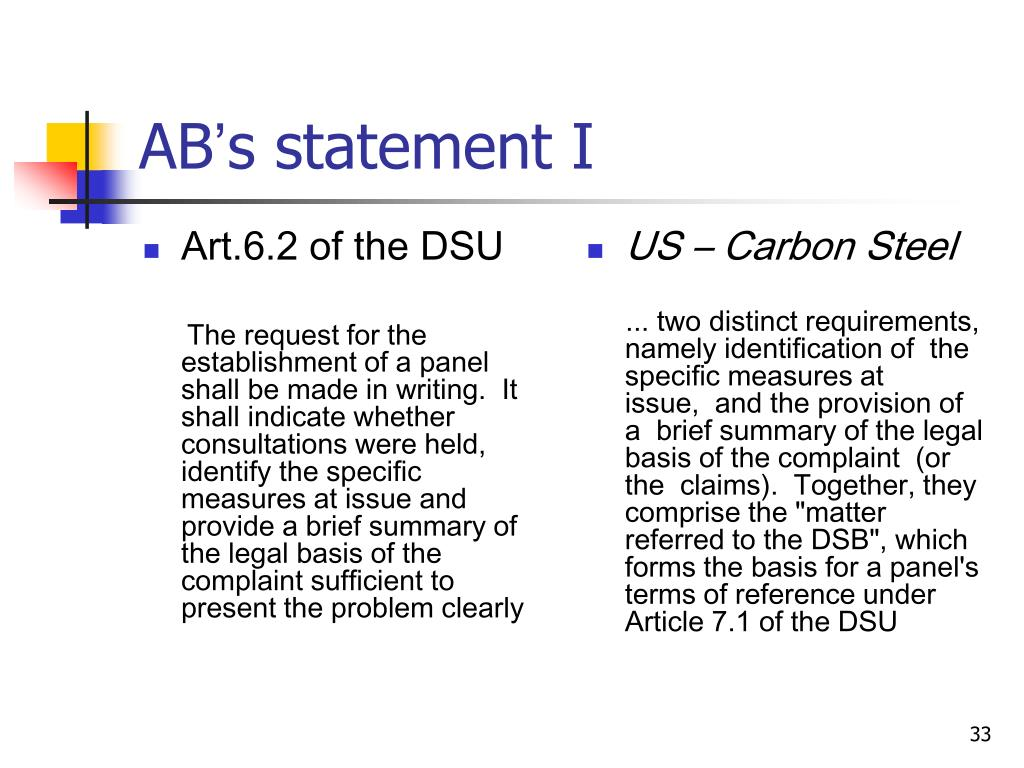 Art.6.2 of the DSU