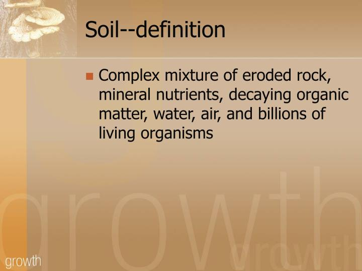 Ppt soil lithosphere powerpoint presentation id 1034120 for Organic soil meaning