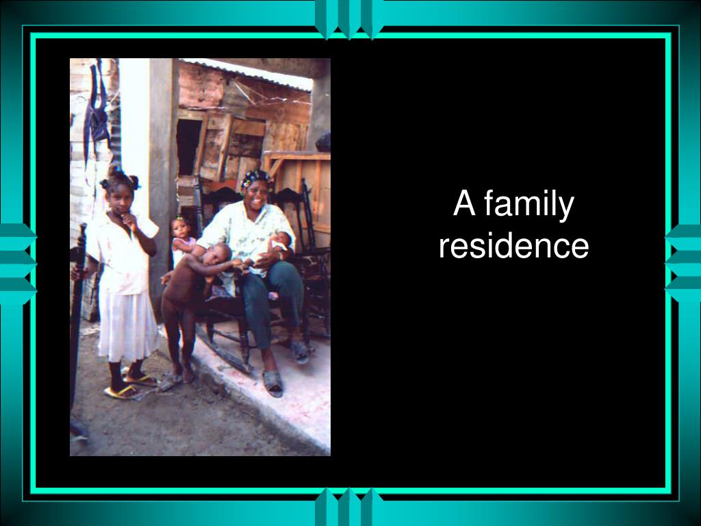 A family residence