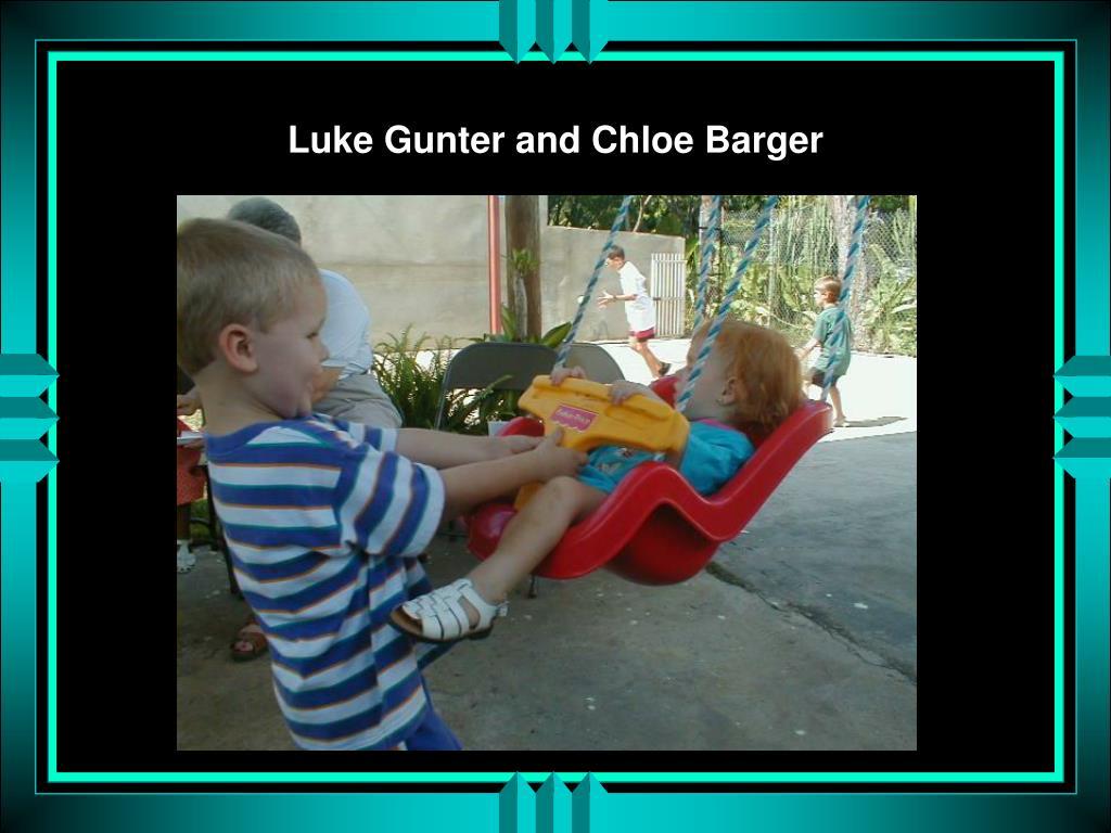 Luke Gunter and Chloe Barger