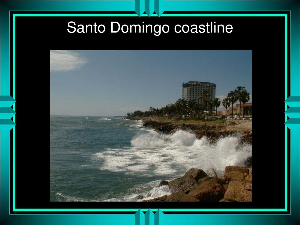 Santo Domingo coastline