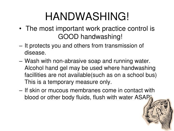 HANDWASHING!